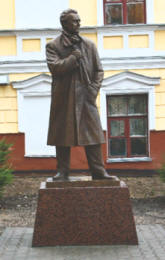 Zinoviev monument in Kostroma 2009